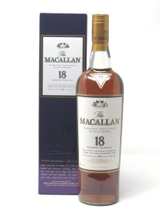 "Macallan ""18 Year Old"" Sherry Oak Speyside Single Malt Scotch (750ML)"