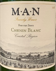 Man Vintners Coastal Region Chenin Blanc 2018 (Sustainable) (750ML)
