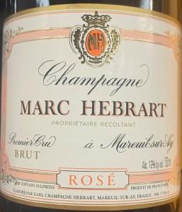 Marc Hebrart Rose Brut Champagne NV (750ml)