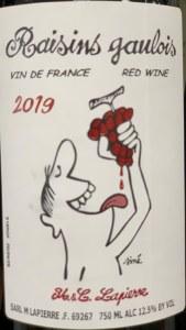 Domaine Marcel Lapierre Raisins Gaulois 2019 (750ml)