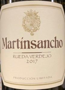 Angel Rodriguez 'MartinSancho' Verdejo Rueda 2017 (750ml)
