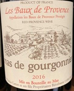 Mas de Gourgonnier Les Baux de Provence Red 2017 (750ml)