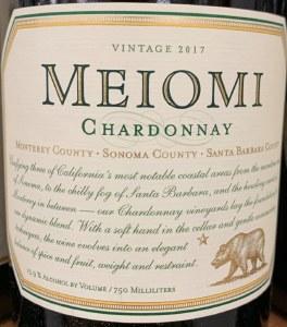 Meiomi Chardonnay Sonoma County-Monterey-Santa Barbara 2017 (750ml)