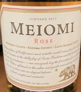 Meiomi Pinot Noir Rose 2017 (750ml)