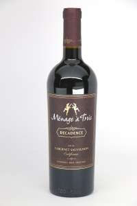Menage a Trois 'Decadence California Cabernet Sauvignon (750ML)