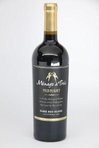 Menage a Trois 'Midnight Red' California Merlot, Cabernet, Petite Sirah, Petit Verdot  (750ml)