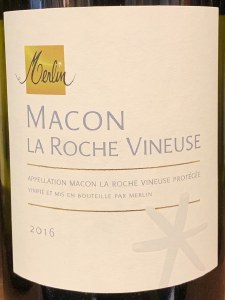 Merlin Macon-La Roche Vineuse Chardonnay 2016 (750ml)