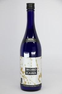 "Momokawa ""Pearl Nigori Genshu"" California Sake NV (750ML)"