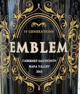 Michael Mondavi Emblem Cabernet Sauvignon Napa Valley 2015 (750ml)
