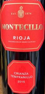 Montecillo Rioja Crianza Red 2015 (750ML)