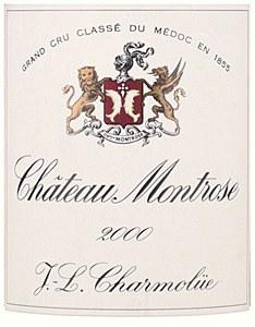Chateau Montrose St. Estephe Bordeaux 2000 (750ML)