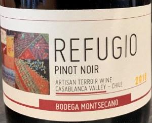 Montsecano Refugio Pinot Noir 2018 (750ml)