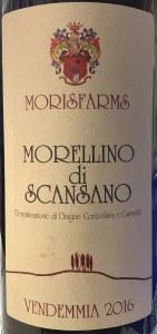 Morisfarms Morellino di Scansano 2016 (750ml)