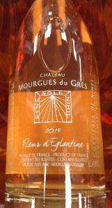 Chateau Mourgues du Gres Costieres de Nimes Fleur d'Eglantine Rose 2019 (750ml)