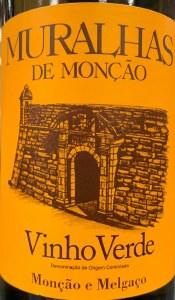 Muralhas de Moncao Vinho Verde 2018 (750ml)