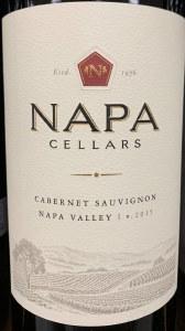 Napa Cellars Cabernet Sauvignon Napa Valley 2016 (.750L)