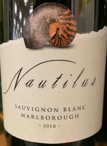 Nautilus Sauvignon Blanc Marlborough 2018 (750ml)