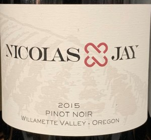 Nicolas Jay Willamette Valley Pinot Noir 2015 (750ml)