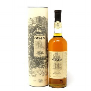 Oban 14 Year Old Single Malt Scotch Whiskey, Highland (750ML)