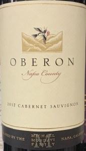 Oberon Napa Valley Cabernet Sauvignon 2017 (750ML)