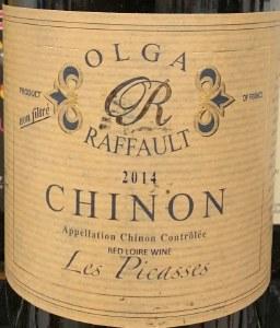 Olga Raffault 'Les Picasses' Chinon 2014 (750ML)