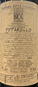 Paolo Bea Pipparello Montefalco Rosso 2012 (750ml)