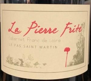 Domaine du Pas St. Martin La Pierre Frite Saumur Rouge 2017 (750ml)