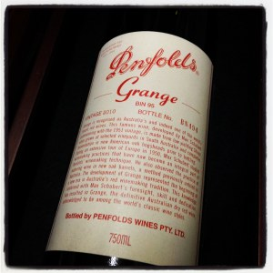 Penfolds 'Grange' Shiraz South Australia 2010 (750ml)