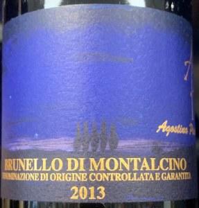 Agostina Pieri Brunello di Montalcino 2015 (750ML)
