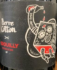 Pierre Cotton Cote de Brouilly 100% Cotton Beaujolais 2019 (750ml)