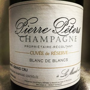 Pierre Peters 'Cuvee de Reserve' Blanc de Blancs Grand Cru Brut Champagne NV (750ml)