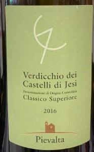 Pievalta Verdicchio dei Castelli di Jesi Classico Superiore 2016 (750ml)
