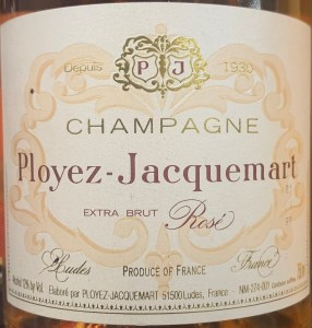 Ployez-Jacquemart Champagne Brut Rose Sparkling Wine NV (750ML)