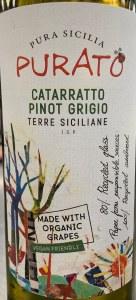 Purato Cataratto Pinot Grigio Sicily 2018 (750ml)