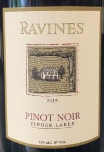 Ravines Wines Cellars Pinot Noir Finger Lakes 2015 (750ml)