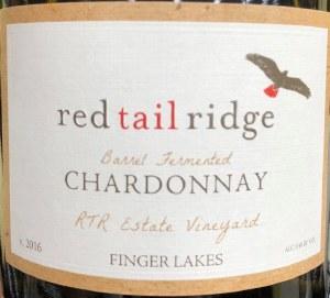 Red Tail Ridge Barrel Ferment Chardonnay 2016 (750ml)