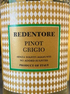 Redentore Pinot Grigio delle Venezie 2019(750ML)