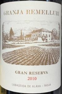 Remelluri Rioja Gran Reserva Granja 2012 (750ml)