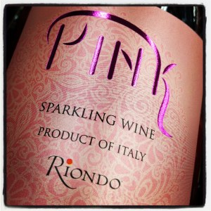 """Pink"" by Riondo Prosecco Veneto IGT Rose Sparkling  (750ML)"
