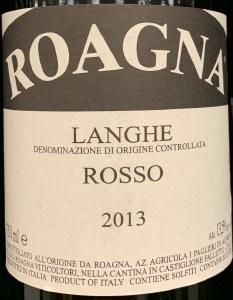 Roagna Langhe Rosso 2014 (750ml)