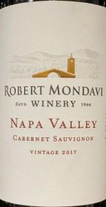 Robert Mondavi Napa Cabernet Sauvignon 2018 (750ML)