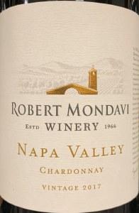 Robert Mondavi Chardonnay Napa Valley 2018 (750ML)