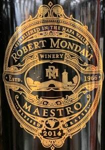 Robert Mondavi Maestro Red 2016(750ML)