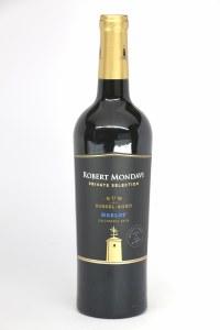 Robert Mondavi Private Sel 'Rum Barrel-Aged' Merlot  (750ml)
