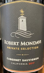 Robert Mondavi 'Cab Sauv Private Selection' California 17 (750ml)