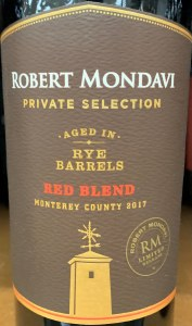 Robert Mondavi PRV 'Rye Barrel' -Red Blend (750ml)