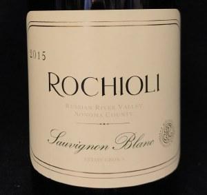 Rochioli Sauv Blanc Russian River Valley Sonoma County 2015 (.750L)