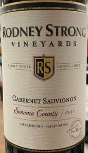 Rodney Strong Cabernet Sauvignon Sonoma County 2016 (750ml)