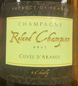 Roland Champion 'Cuvee Aramis' Brut Champagne NV - 90pts WS (750ml)