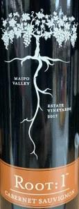 Root 1 Cabernet Sauvignon Colchagua Valley 2017 (750ml)